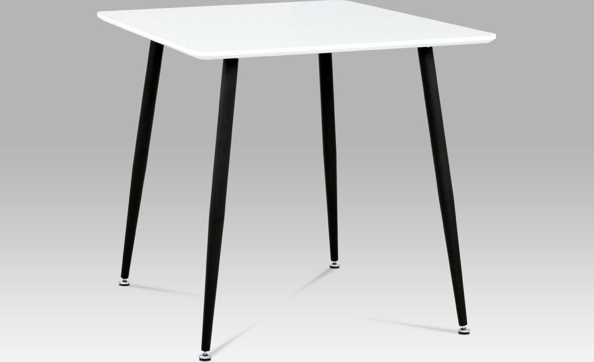 Jídelní stůl malý 80x80cm Barva: černá