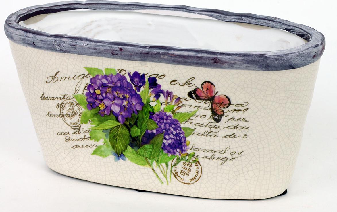 Květináč keramický ovál Velikost: menší