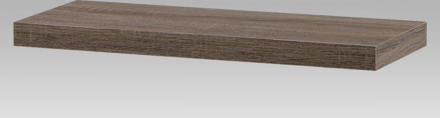 Artium Nástěnná polička 60cm Barva: dub sonoma tmavý