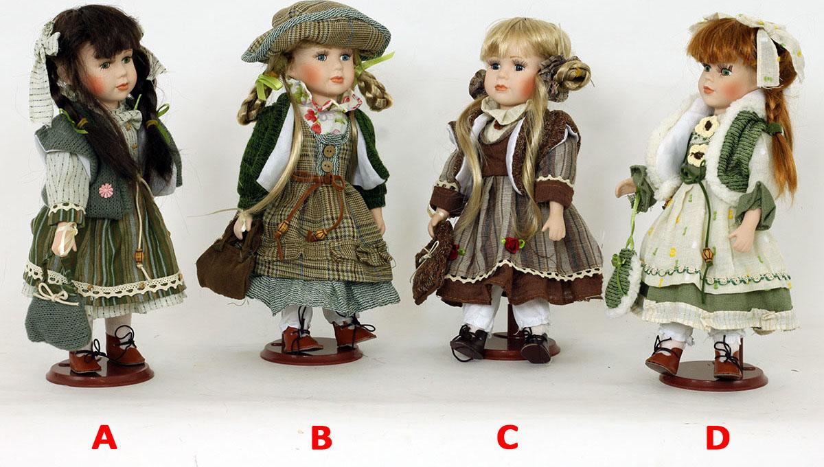 Panenka s porcelánovou hlavičkou Provedení: A