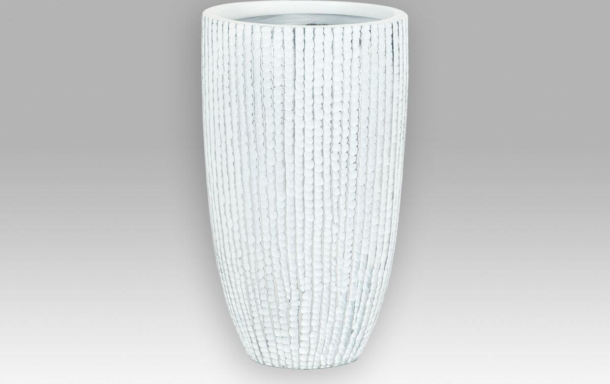Polyresinová váza pouze pro umělé květiny 18x18x30cm