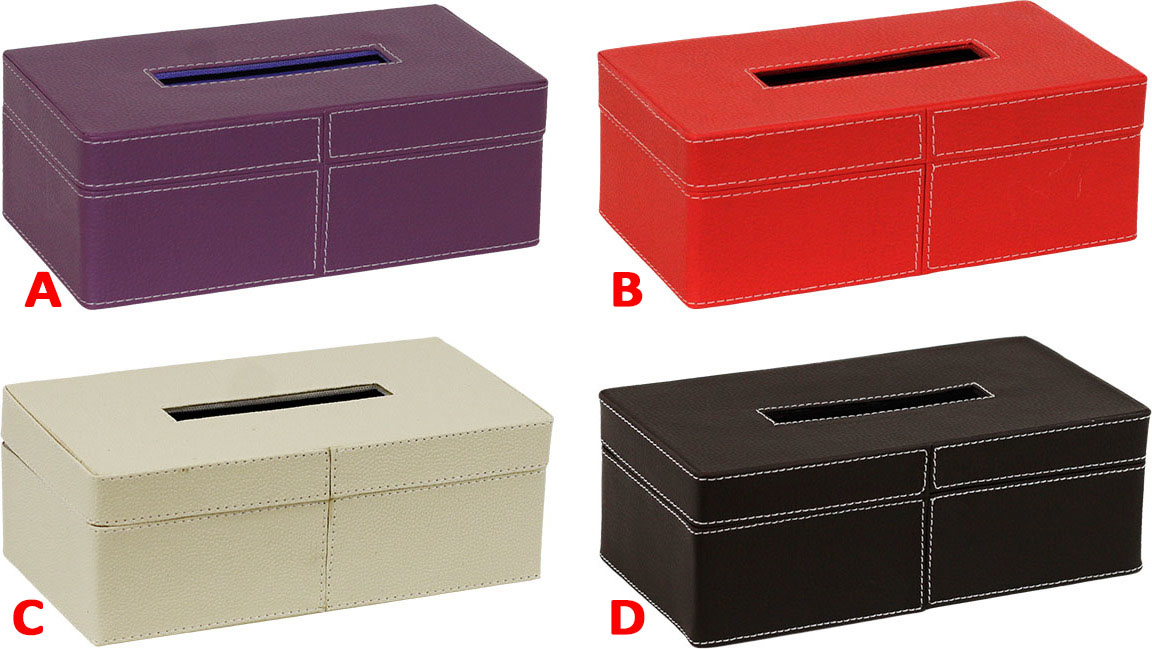 Box na papírové ubrousky Provedení: A