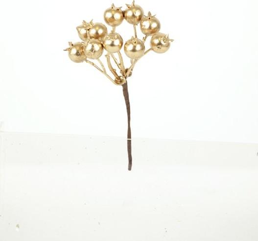 Vánoční přízdoba zlatá větvička