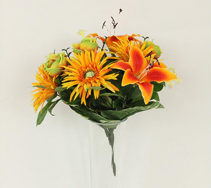 Artium Puget umělých květin oranžový