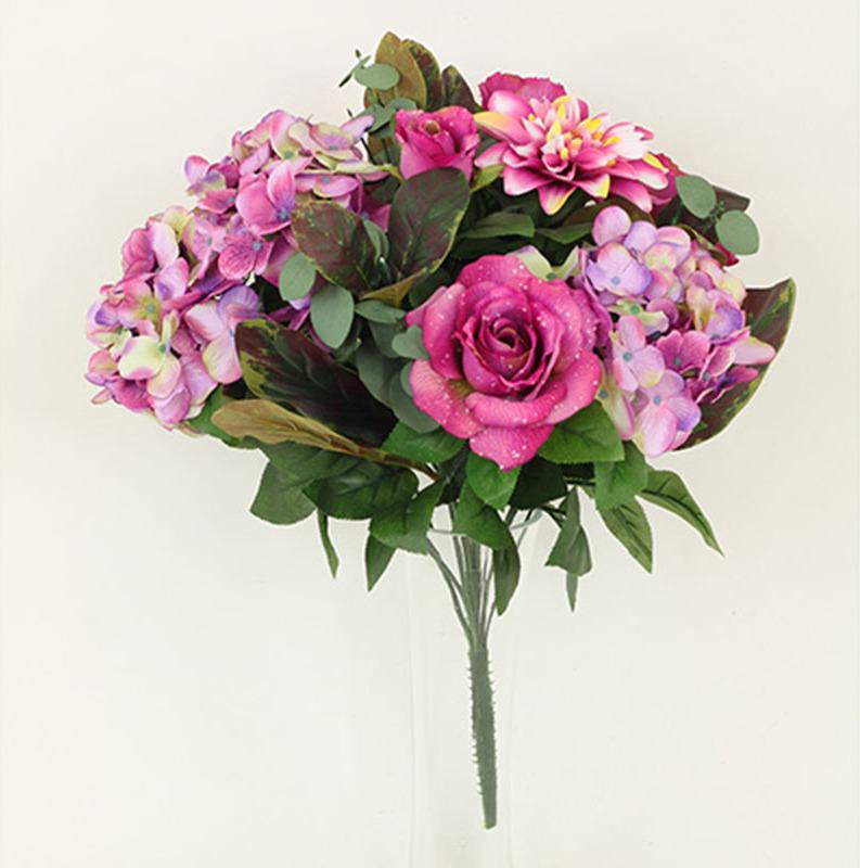 Artium Puget umělých květin růžový