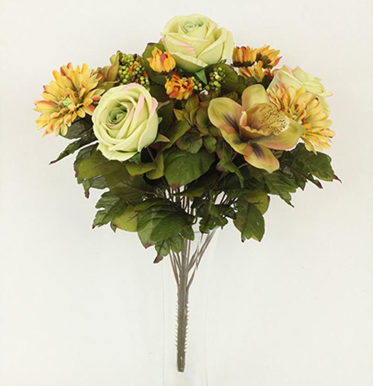 Artium Puget umělých květin žlutý