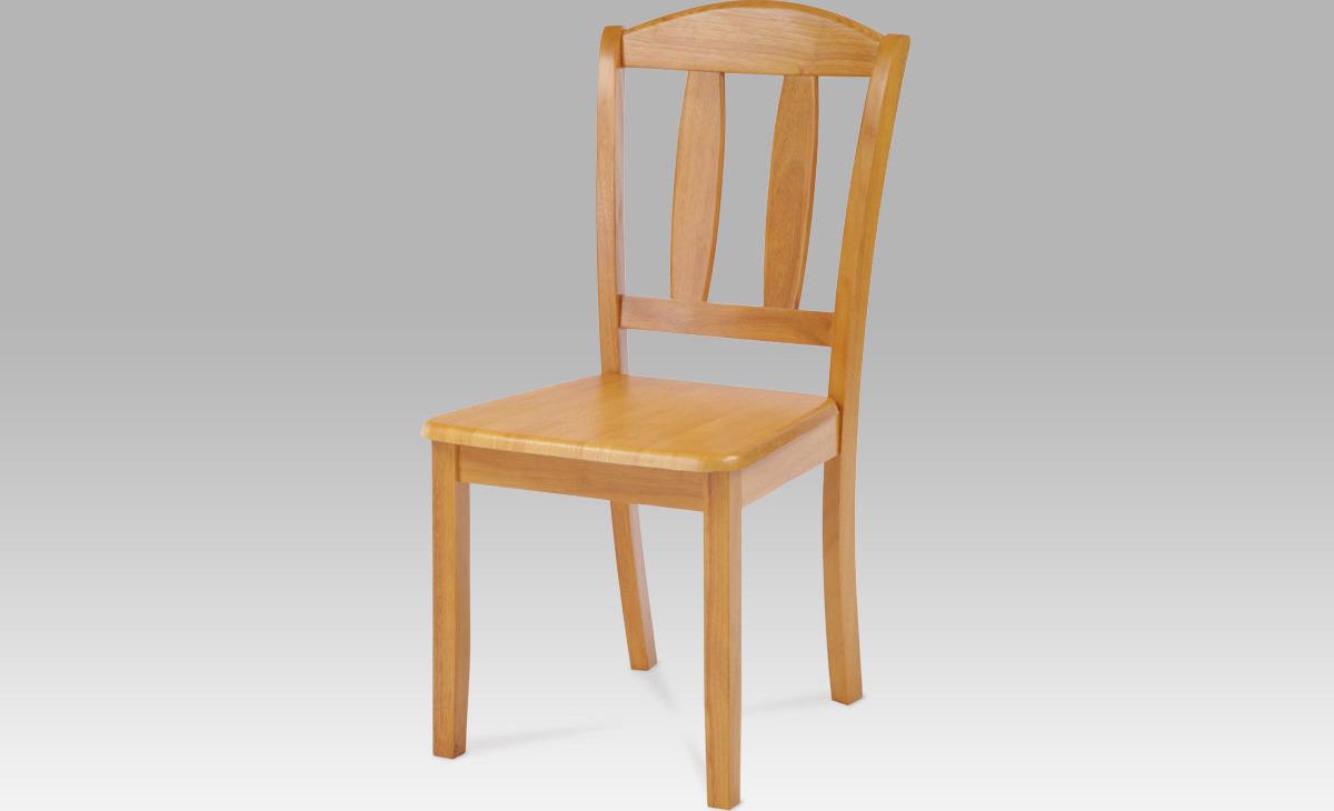 Artium Jídelní židle dřevěná 44x42x90x43cm Barva: olše