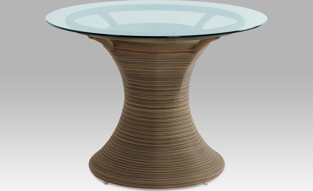 Jídelní stůl|umělý ratan|bez skla