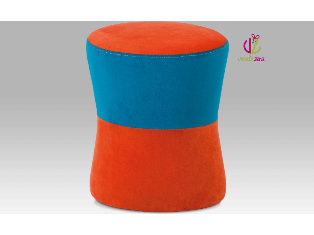 Artium Taburet barevný Provedení: C