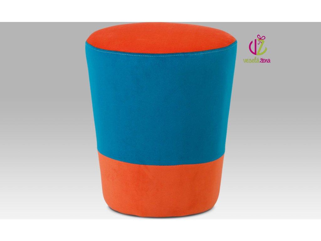 Artium Taburet barevný Provedení: B