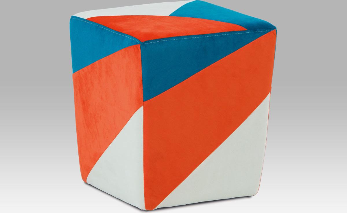 Artium Taburet barevný Provedení: A