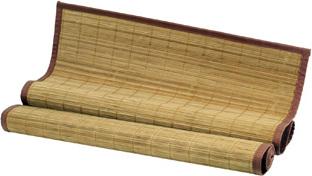 Rohož za postel bambusová 300x70cm Barva: hnědá