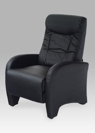 Relaxační křeslo látkové Barva: černá