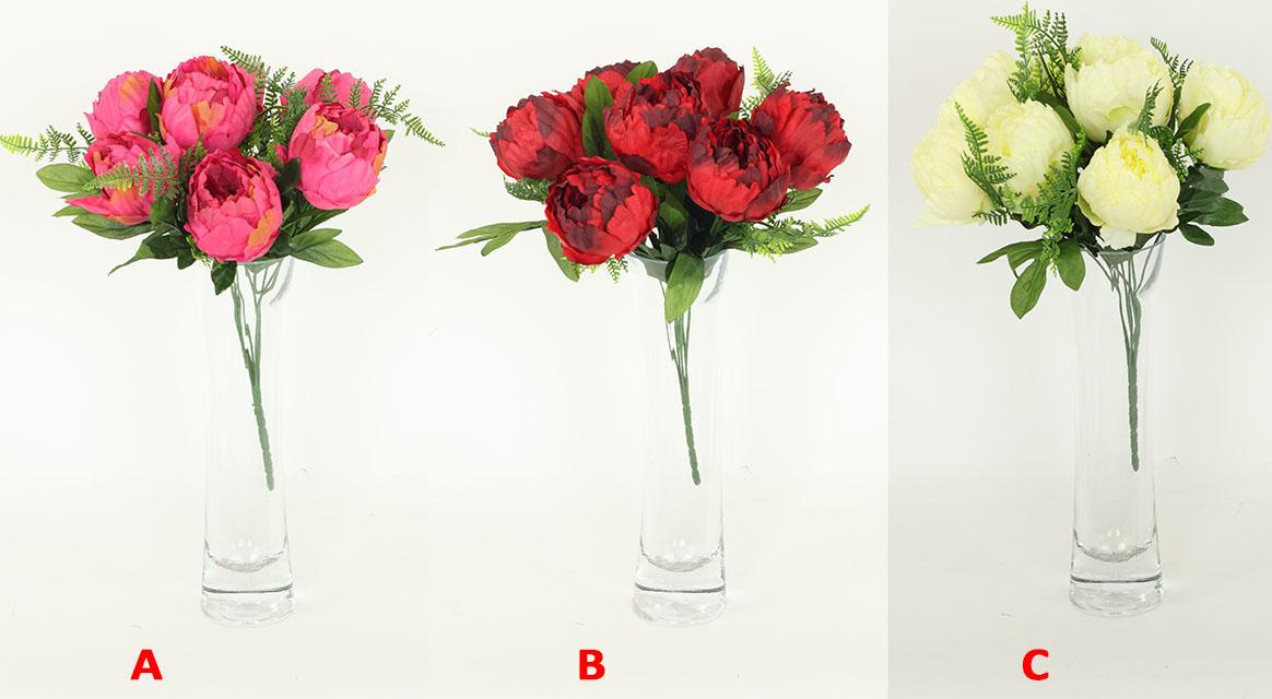 Autronic Pivoňky puget umělá květina Provedení: A