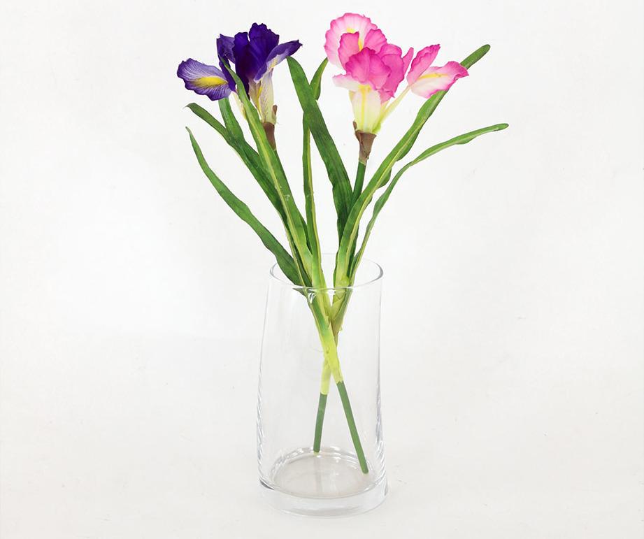 Artium Umělá květina | iris | 30cm | 2 barvy Barva: růžová