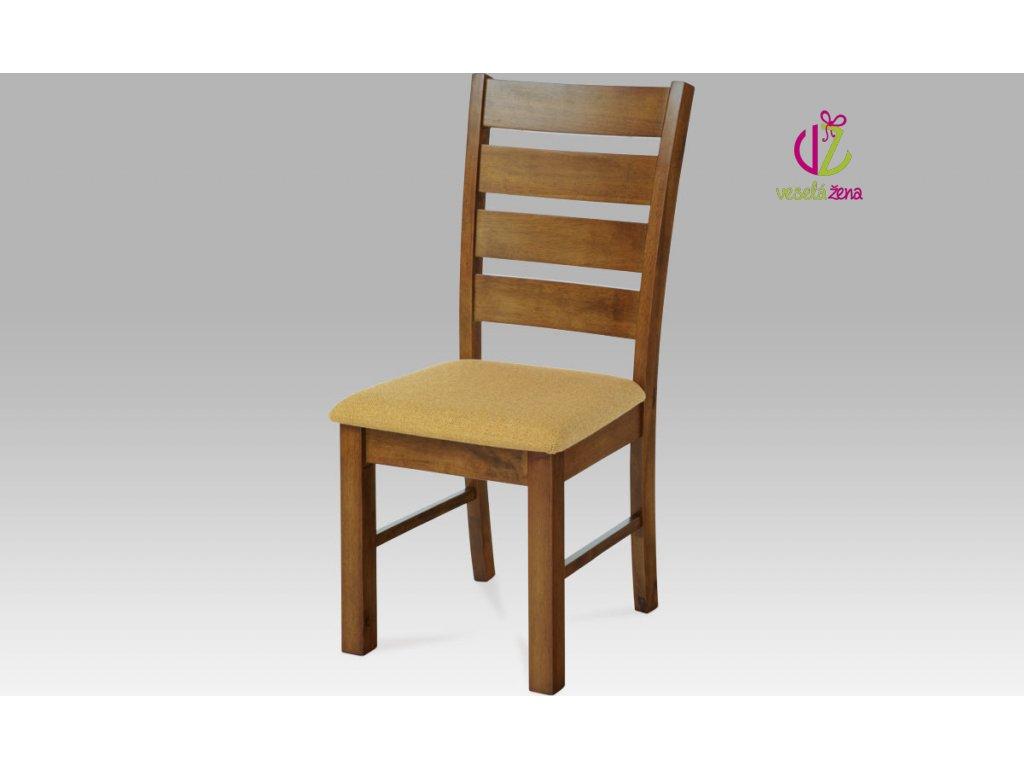 Jídelní židle dřevěná 47x41x99x47cm Barva: ořech