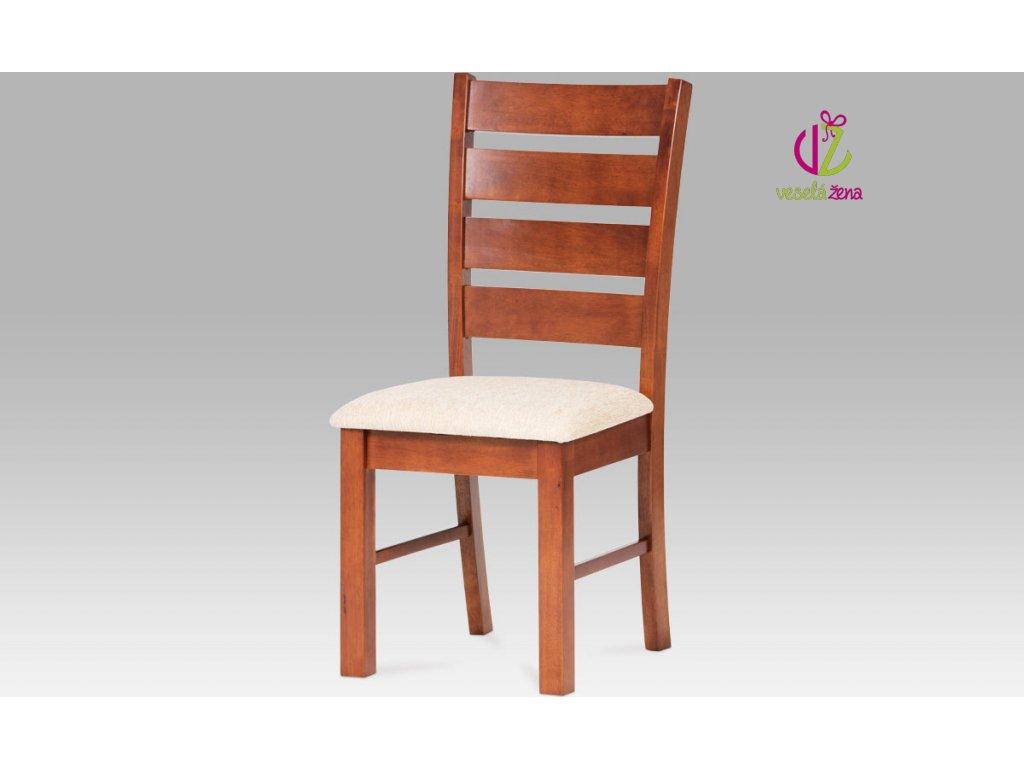 Jídelní židle dřevěná 47x41x99x47cm Barva: třešeň