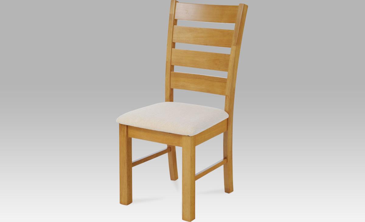 Jídelní židle dřevěná 47x41x99x47cm Barva: dub