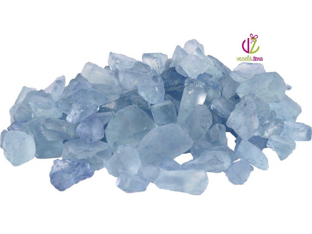 Plastové kamínky 500g Barva: modrá