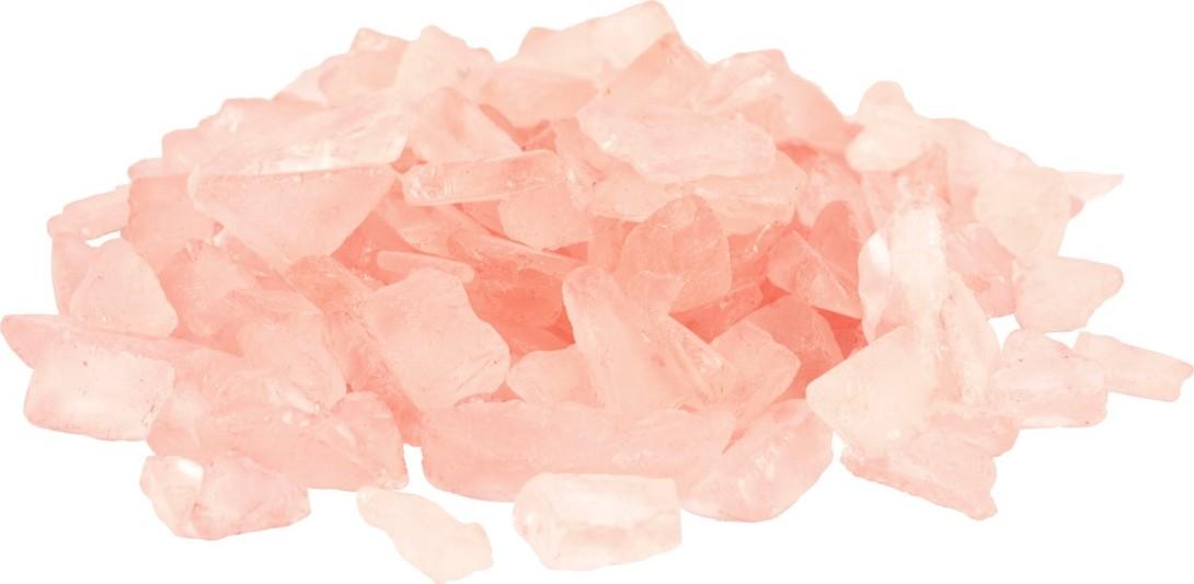 Plastové kamínky 500g Barva: lososová
