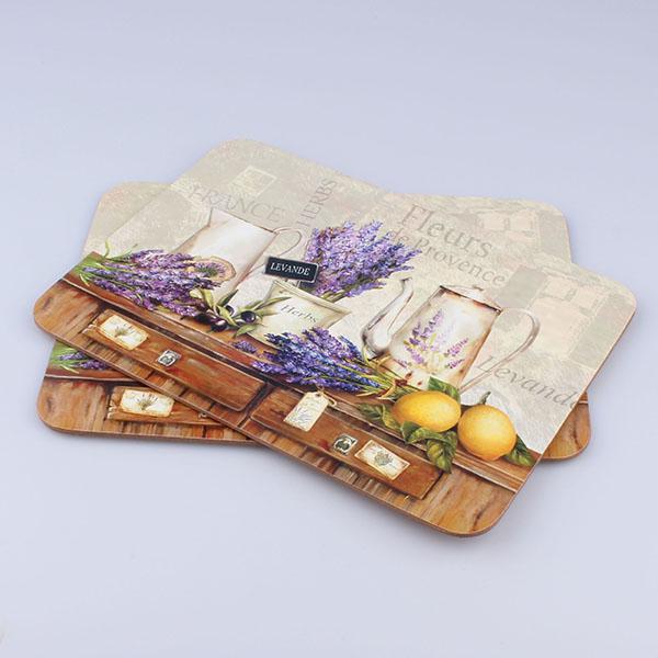 Casa de Engel Korkové prostírání Fleurs de Provence Rozměry: 21x29cm - 2ks