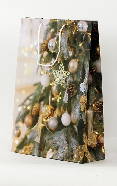 Dárková vánoční taška 33x9x41cm Provedení: A