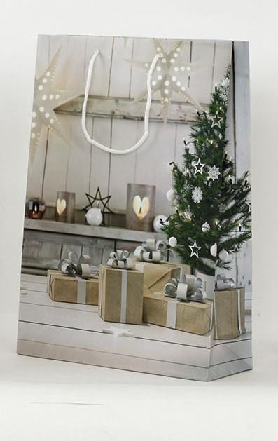 Dárková vánoční taška 25x9x34cm Provedení: B