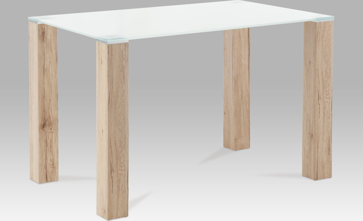 Jídelní stůl skleněný 120x75cm