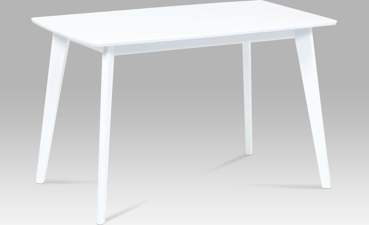 Jídelní stůl bílý 120x75cm