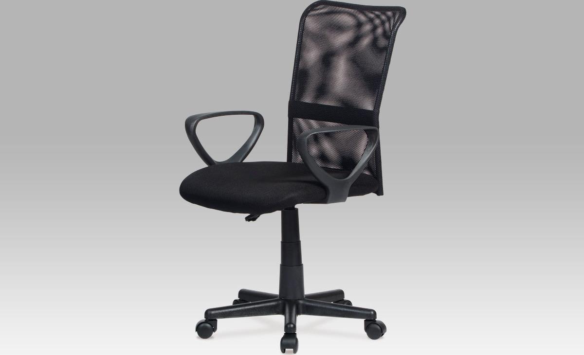 Kancelářská židle   mesh   výškově nastavitelná Barva: černá