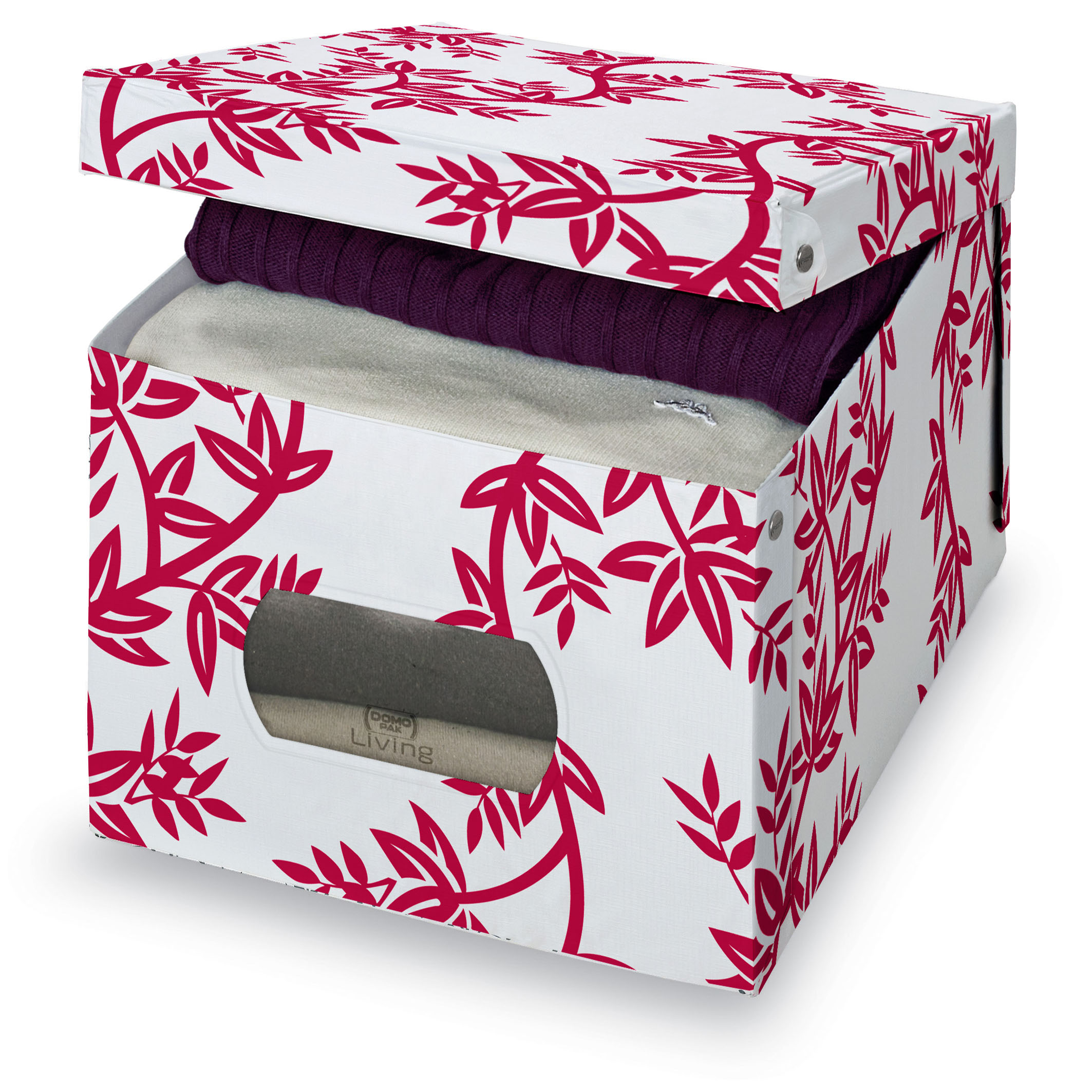 DOMOPAK Living Úložný box s oknem s větvičkami Velikost: menší