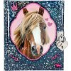 Deníček | se zámkem | Horses Dreams | Modrý
