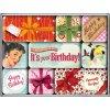 Magnetky na ledničku Say It 50's Happy Birthday Set