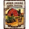 Plechová cedule John Deere traditions