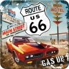 Podtácek ROUTE US 66 GAS UP