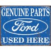 Plechová cedule Ford Genuine parts III 30x40cm