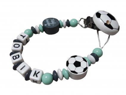 Fotbalový klip míč a malý bráška