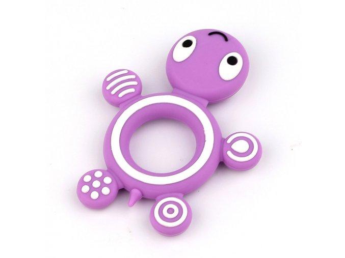 želvička fialová