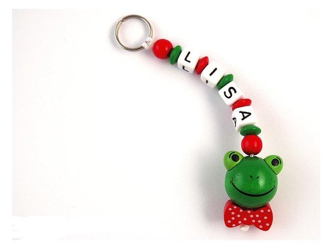 Přívěšek na klíče - žabka
