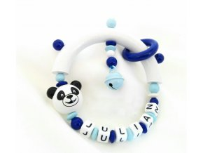 panda chrastitko modre