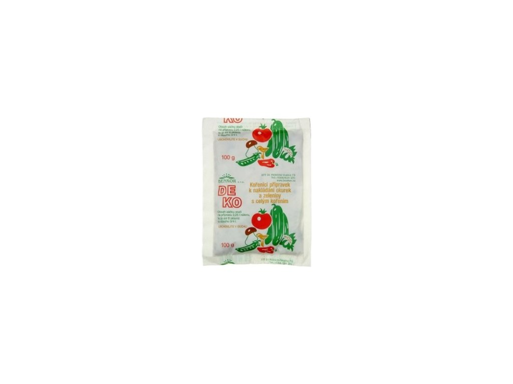 DEKO - nálev na okurky a zeleninu extrakt 100g