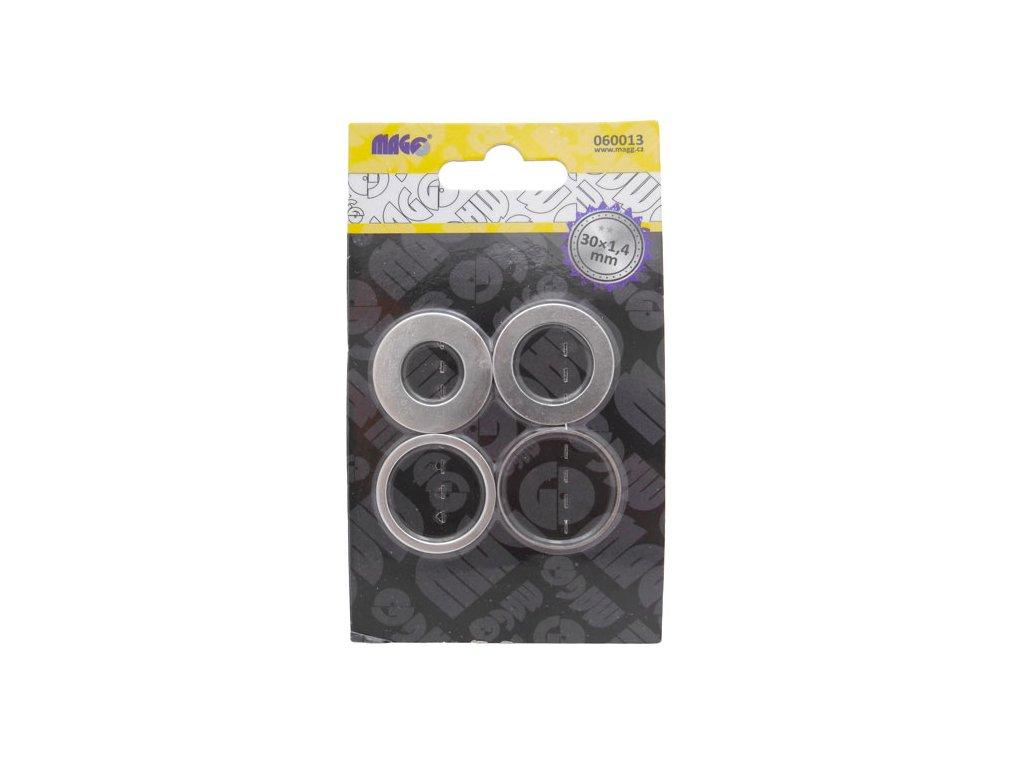 Redukční kroužky k pilovým kotoučům 30mm x 1,4mm