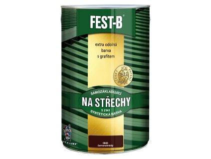 FEST-B S2141, antikorozní nátěr na železo, 0840 červenohnědá, 5 kg