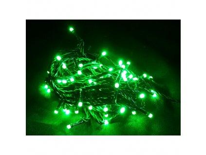 Řetěz MagicHome Orion, 10m, 100 x LED zelená 8 funkcí