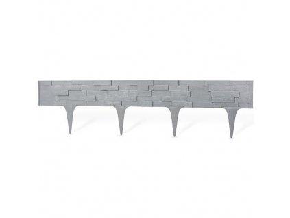 Palisáda StonePalisade 2,37 m, grafit, 3 ks, UV, 790x95/200 mm