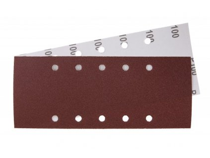 Brus.papír 115x280mm,P100,10otvorů 5ks