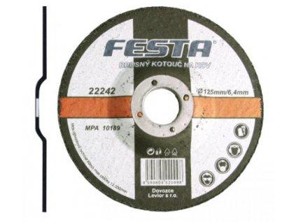 Kotouč brusný kov 115x6.4x22.2 FESTA