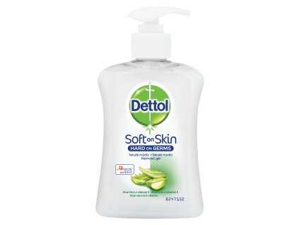 DETTOL  tekuté mýdlo antibakteriální aloe vera 250ml
