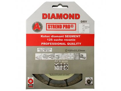 Kotuč Strend Pro 521A, 230 mm, Diamant, Segment
