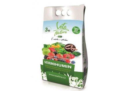 Vermihumin organické hnojivo 3 kg Vita Natura